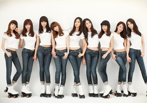 Girls Generation — Composed of nine female members, fans often refer them as